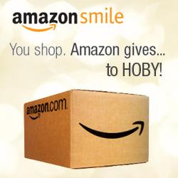 Amazine Smile - You Shop, Amazon gives to HOBY!