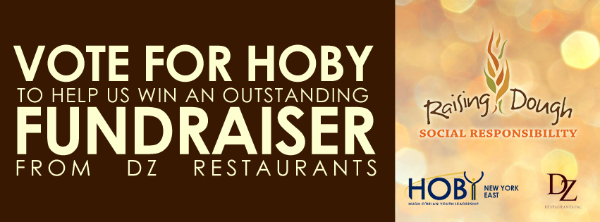Vote for HOBY! DZ Restaurants' Raising Dough Contest